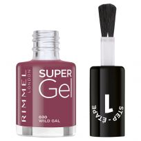 Rimmel London Super Gel Nali Polish #030 Wild Gal 12ml