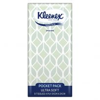 Kleenex Ultra Soft Pocket Tissues 1 Pocket Pack