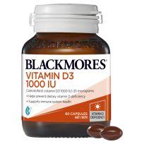 Blackmores Vitamin D3 1000IU 60 Capsules