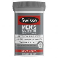 Swisse Men's Ultivite Multivitamin 60 Tablets
