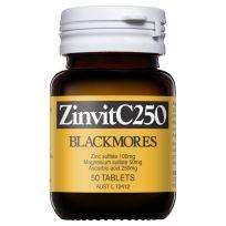Blackmores Zinvit C 250 50 Tablets