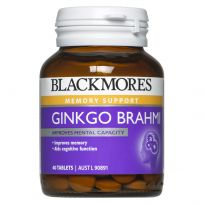 Blackmores Ginko + Brahmi 40 Tablets