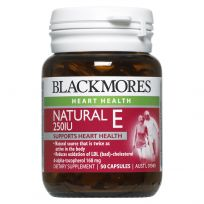 Blackmores Vitamin E 250IU 50 Capsules