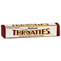 Anticol Throaties 10 Lozenges Stick Pack
