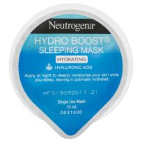 Neutrogena Hydro Boost Sleep Mask 10ml Single Use