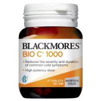 Blackmores Bio C 1000mg 31 Tablets
