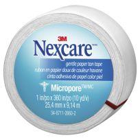 Nexcare Micropore Gentle Paper Tape White 25mm x 9m