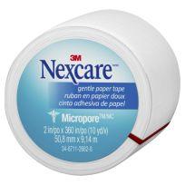 Nexcare Micropore Gentle Paper Tape White 50mm x 9m