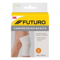 Futuro Knee Compression Basics Elastic Knit Support Small