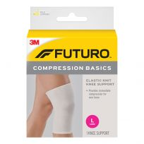 Futuro Knee Compression Basics Elastic Knit Support Large