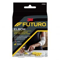 Futuro Elbow Comfort Support with Pressure Pads Large (47863)