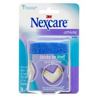 Nexcare Athletic Wrap Blue 75mm x 2m Unstretched