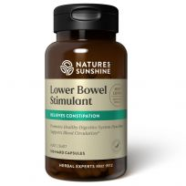Nature's Sunshine Lower Bowel Stimulant 100 Capsules