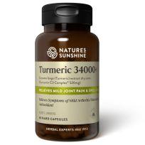 Nature's Sunshine Turmeric 34000+ 60 Capsules