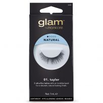Glam by Manicare Lashes 01. Taylor