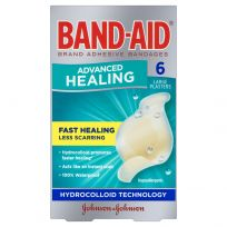 Band Aid Advanced Healing Large 6 Pack