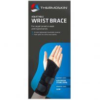 Thermoskin Wrist Brace Adjustable Left (80642) One Size