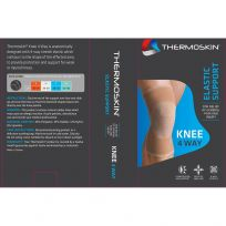 Thermoskin Elastic 4 Way Knee Support 609 XLG 42-46cm