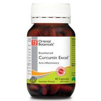 Oriental Botanicals Curcumin Excel 60 Caplets