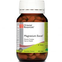 Oriental Botanicals Magnesium Excel 60 Tablets