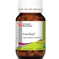 Oriental Botanicals Iron Excel 30 Tablets
