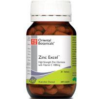 Oriental Botanicals Zinc Excel 30 Tablets