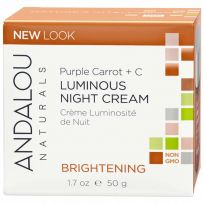 Andalou Brightening Luminous Night Cream 50g