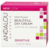 Andalou Sensitive 1000 Roses Beautiful Day Cream 50g