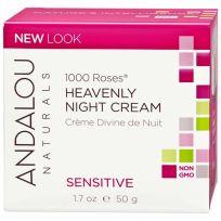 Andalou Sensitive 1000 Roses Heavenly Night Cream 50g