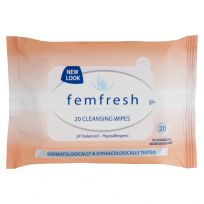 Femfresh Intimate Hygiene Cleansing Wipes 20 Pack