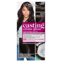 L'Oreal Casting Creme Gloss Hair Colour 200 Ebony Black