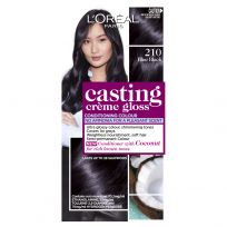 L'Oreal Casting Creme Gloss Hair Colour 210 Blue Black