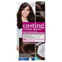 L'Oreal Casting Creme Gloss Hair Colour 300 Darkest Brown