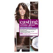 L'Oreal Casting Creme Gloss Hair Colour 400 Dark Brown