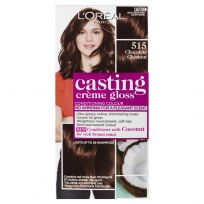 L'Oreal Casting Creme Gloss Hair Colour 515 Chocolate Chestnut