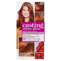 L'Oreal Casting Creme Gloss Hair Colour 645 Amber