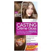 L'Oreal Casting Creme Gloss Hair Colour 630 Caramel