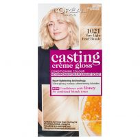 L'Oreal Casting Creme Gloss Hair Colour 1021 Very Light Pearl Blonde