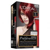 L'Oreal Paris Preference Hair Colour Feria P67 Scarlet Intense Red
