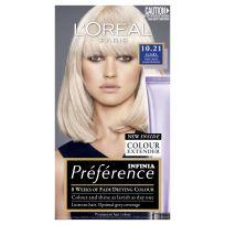 L'Oreal Paris Preference Hair Colour 10.21 Alaska