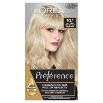 L'Oreal Preference Permanent Hair Colour 10.1 Helsinki