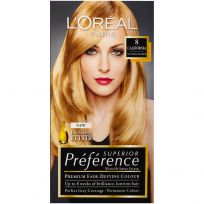 L'Oreal Paris Preference Hair Colour 8 California Natural Blonde