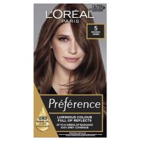 L'Oreal Preference Permanent Hair Colour 5 Bruges Natural Brown