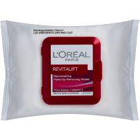 L'Oreal Paris Revitalift Cleansing Wipes 25 Pack