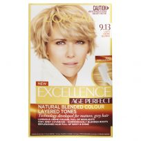 L'Oreal Excellence Age Perfect Hair Colour 9.13 Light Creme Blonde