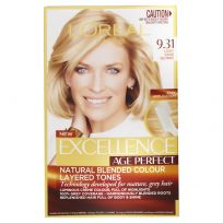 L'Oreal Excellence Age Perfect Hair Colour 9.31 Light Sand Blonde