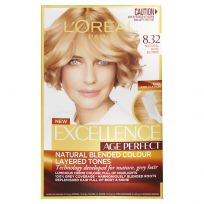L'Oreal Excellence Age Perfect Hair Colour 8.032 Natural Rose Blonde