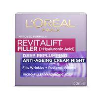L'Oreal Paris Revitalift Filler [HA] Night Moisturiser 50ml