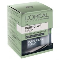 L'Oreal Paris Pure Clay Detoxifying Charcoal Mask 50ml