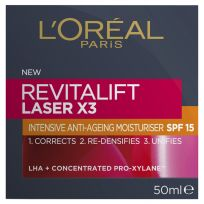 L'Oreal Paris Revitalift Laser X3 Anti-Ageing Day Moisturiser SPF 15 50ml